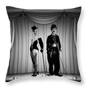 Stars On Stage Throw Pillow