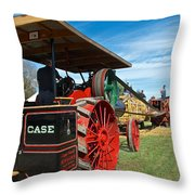 Start Her Up Its Thrashing Time Throw Pillow