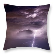 Starting High Throw Pillow by James BO  Insogna