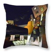 Stata Center Throw Pillow