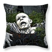 State Fair After Dark Throw Pillow by Gwyn Newcombe