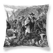 Staten Island: Dutch Throw Pillow