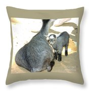Staying Close Throw Pillow