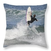 Staying On The Board Throw Pillow