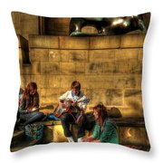 Staying Tuned Throw Pillow