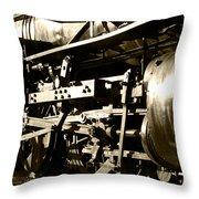 Steam Power II Throw Pillow