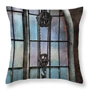 Steampunk - Gear - Importance Of Industry  Throw Pillow