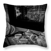 Steeped Tea Throw Pillow