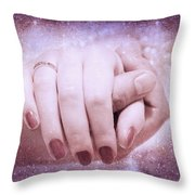 Stellar Bonds Throw Pillow