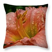 Stella's Ruffled Fingers Throw Pillow