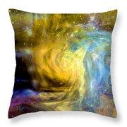 Steller Motions Throw Pillow