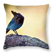 Stellers Rock Throw Pillow