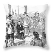 Stephen Burroughs, 1692 Throw Pillow