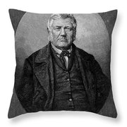 Stephen Vail (1780-1864) Throw Pillow