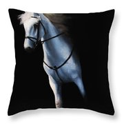 Stepping Into The Spotlight Throw Pillow