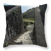 Steps Above The Sea Throw Pillow
