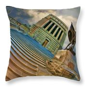 Steps To Justice Throw Pillow
