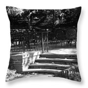 Steps To Seats Throw Pillow