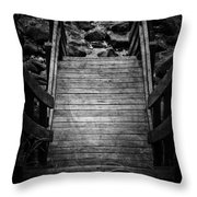 Steps To See Throw Pillow
