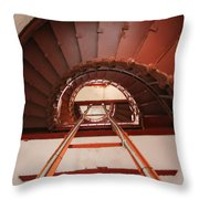 Steps To The Top Throw Pillow
