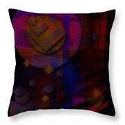 Sternschnuppen - Falling Stars Throw Pillow