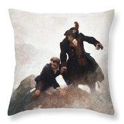 Stevenson - Kidnapped 1913 Throw Pillow