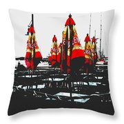 Steveston 1 Throw Pillow