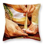 Sthaalipaakam Throw Pillow