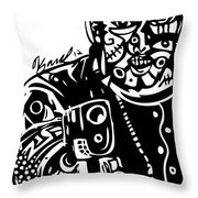 Stick Em Up Throw Pillow