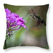 Stick Out Your Tongue Throw Pillow