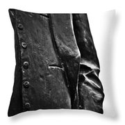 Stiff Colar Throw Pillow