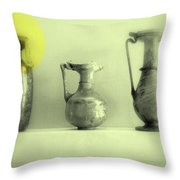 Still Life - Roman Pitchers Throw Pillow