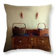 Still Life American Colonial Throw Pillow