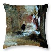Stillness Of The Day Throw Pillow