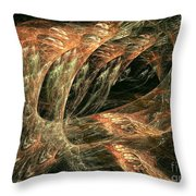 Sting Ray Throw Pillow