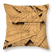 Stock Exchange Art Throw Pillow