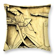 Stock Exchange Miners Throw Pillow