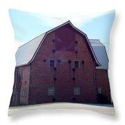 Stoic Barn Throw Pillow