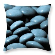 Stone Abstract Art Throw Pillow