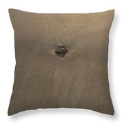 Stone And Sand Throw Pillow