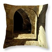 Stone And Shadows Throw Pillow