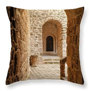 Stone Arches Throw Pillow