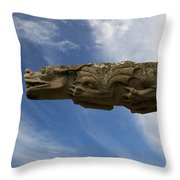 Stone Dragon Throw Pillow