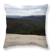Stone Mountain State Park Throw Pillow
