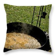 Stone Soup Throw Pillow