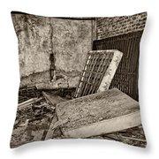 Stonehaven Rehab Sepia Throw Pillow