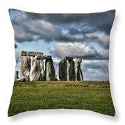 Stonehenge Landscape Throw Pillow