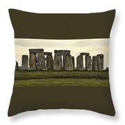 Stonehenge Monument Throw Pillow