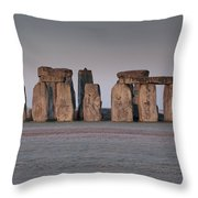 Stonehenge Wiltshire Throw Pillow