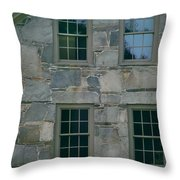 Stonehouse Windows Throw Pillow